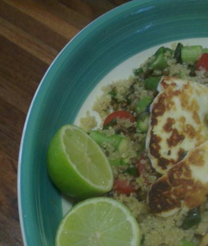 what katie ate: quinoa salad