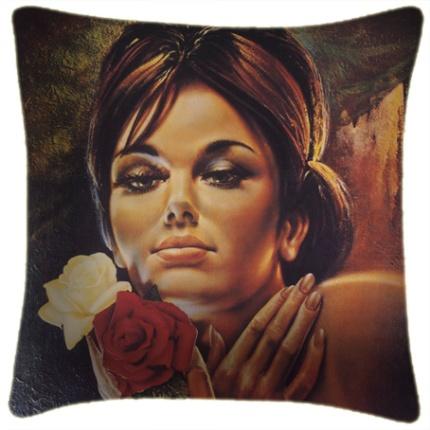 jh lynch: rose cushion