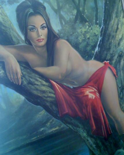 jh lynch: tree woman