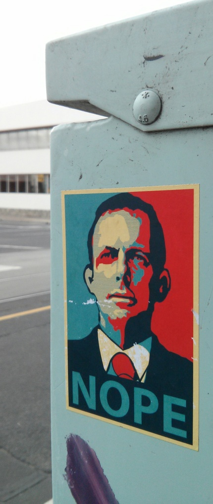 nope : tony abbott - alexander spencer