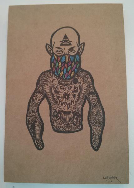 Liam Milner : Tattooed He