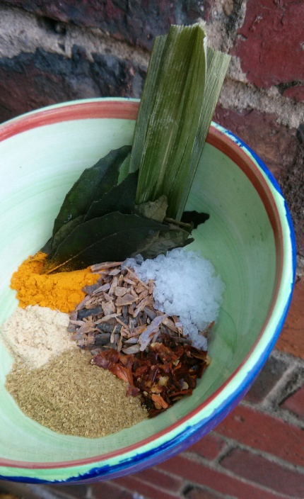 warming with spices
