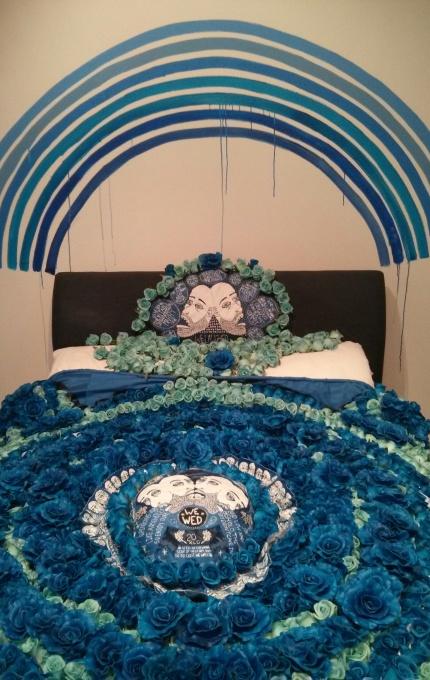 lucas grogan : the wedding quilt]
