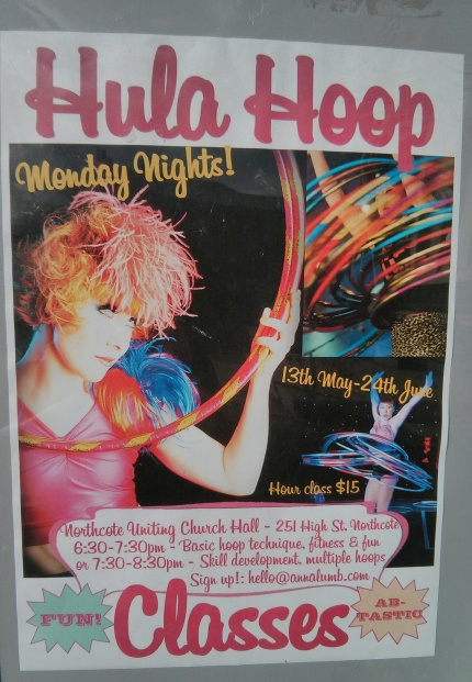 anna lumb : hula hoop classes