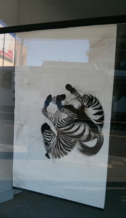 ness flett : zebra 333 high st