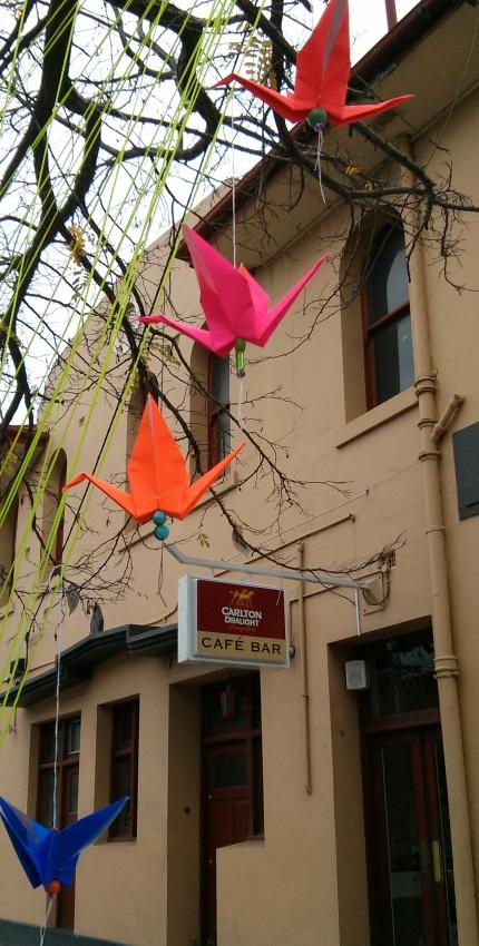 origami birds : high st northcote