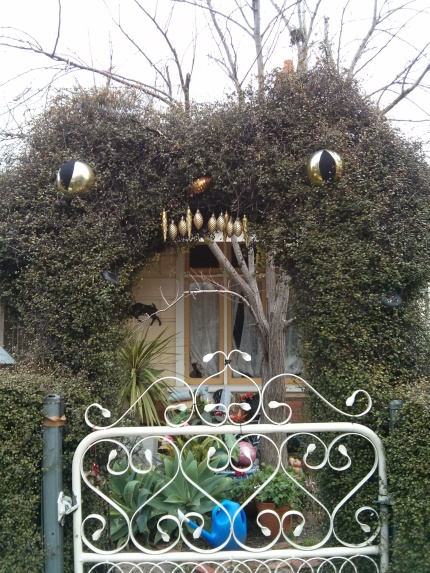 hedge monster : union st northcote