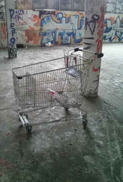 random shopping trolley encounter