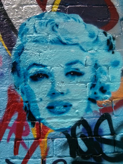 ha ha : marilyn monroe blue, rutledge lane