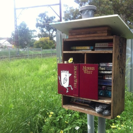 barek : harper st book exchange, northcote