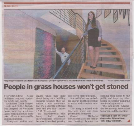 hemp house : jenkins st northcote