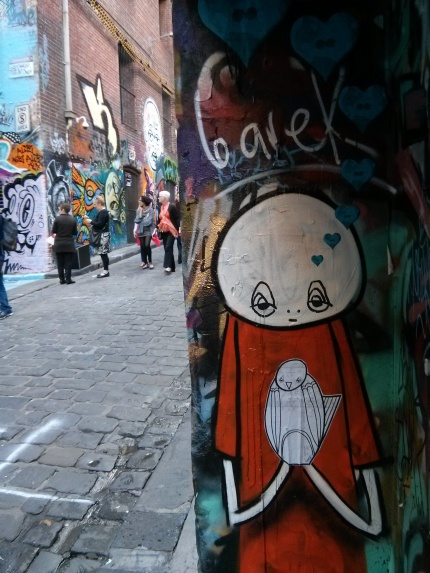 barek and phoenix : hosier lane