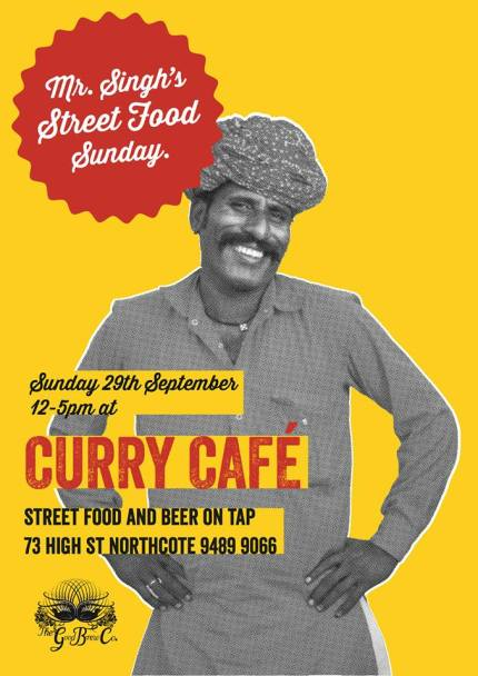 curry cafe : mr singh's street food sunday