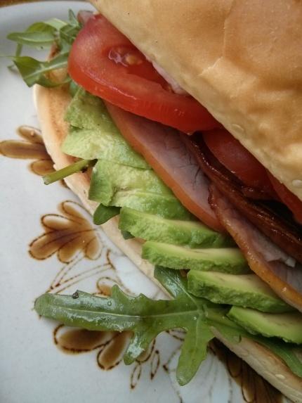 club sandwich brioche pide : gypsy hideout northcote