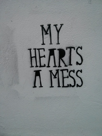 my hearts a mess : fitzroy