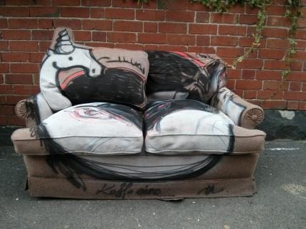 kaff-eine : unicorn couch, fitzroy