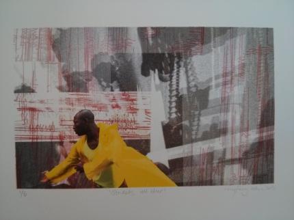 streets all blur : myfanwy alderson