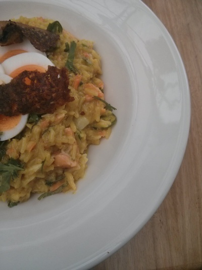 young bloods diner : kedgeree