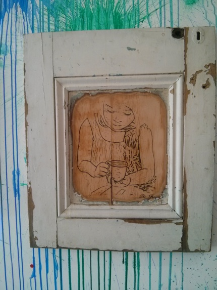 be free : split in two northcote door
