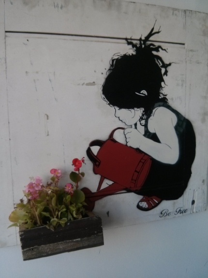 be free : split in two northcote flower box