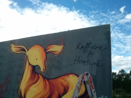 kaff-eine : heartcore @ all nations park deer  signature