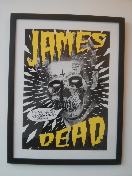 drkness : live fast giclee print
