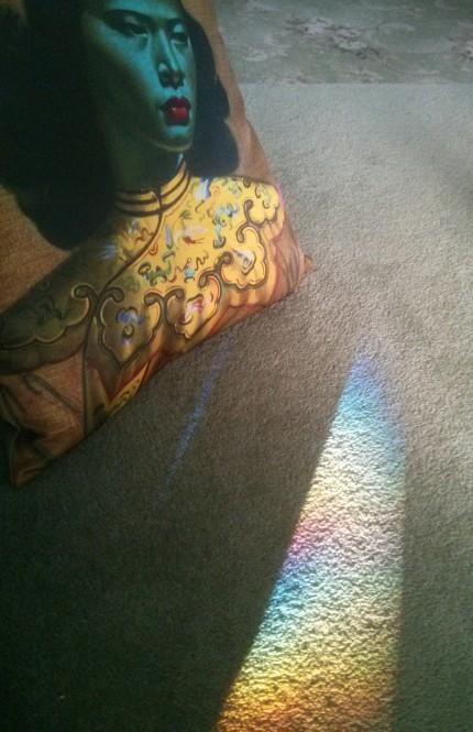 lounge room rainbow