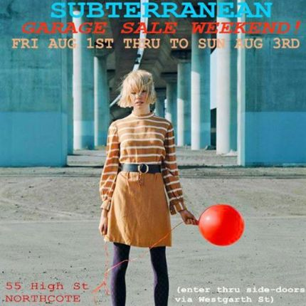 subterranean 3 day sale