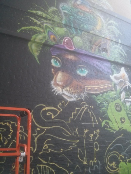 makatron wip - fruit hat cat fitzroy