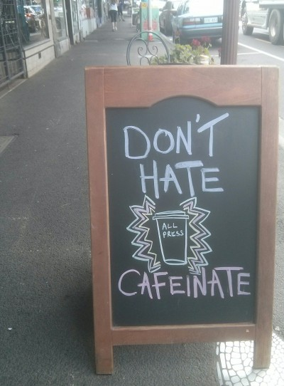 don't hate cafeinate - myrtles northcote