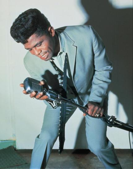 james brown sings