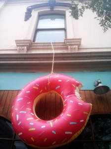 Giant donut, Fitzroy